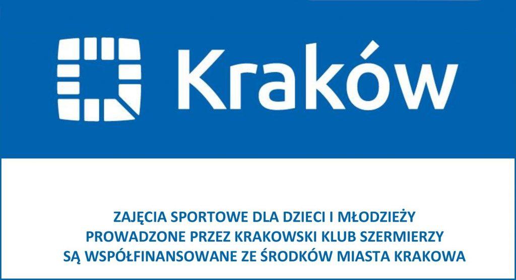 Grafika - Współfinansowanie ze środków miasta Krakowa